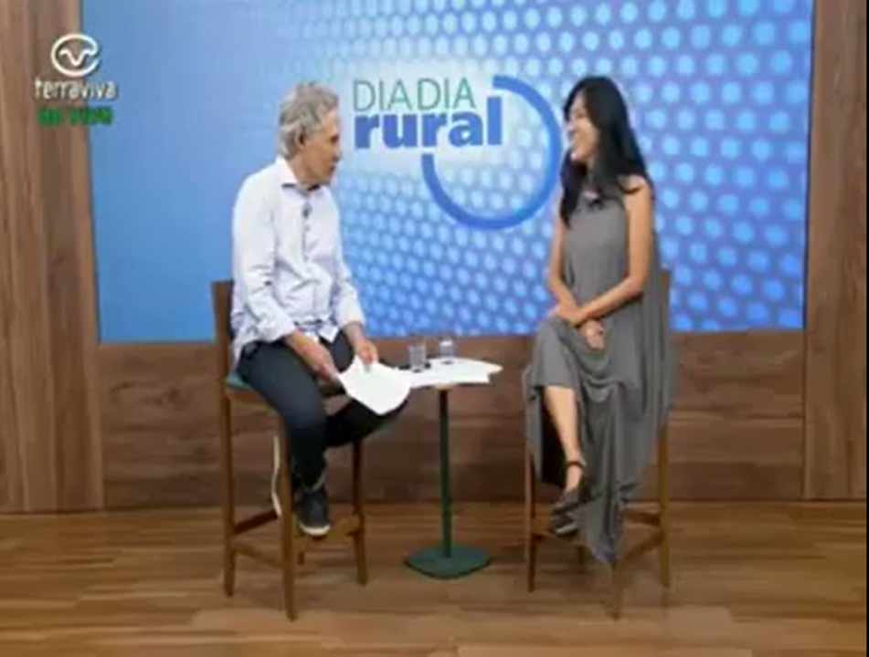 Entrevista Marcia Mikai no Dia a Dia Rural - Agrihood/Fazenda Urbana/Agrofloresta