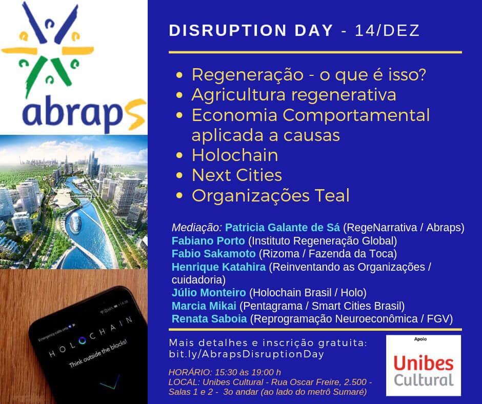 Palestra Marcia Mikai na ABRAPS (Associação Brasileira dos Profissionais pelo Desenvolvimento Sustentável)